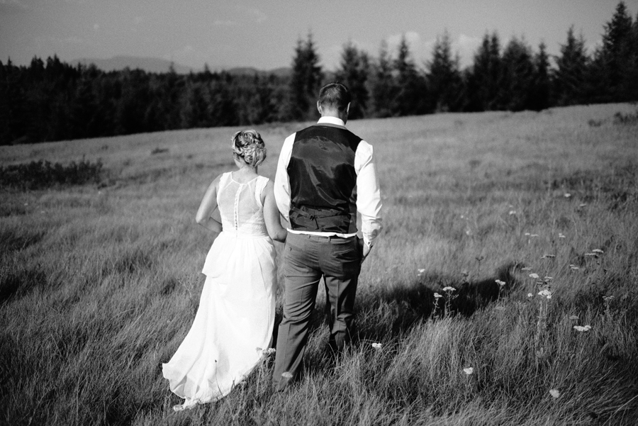 Summer wedding photography BC