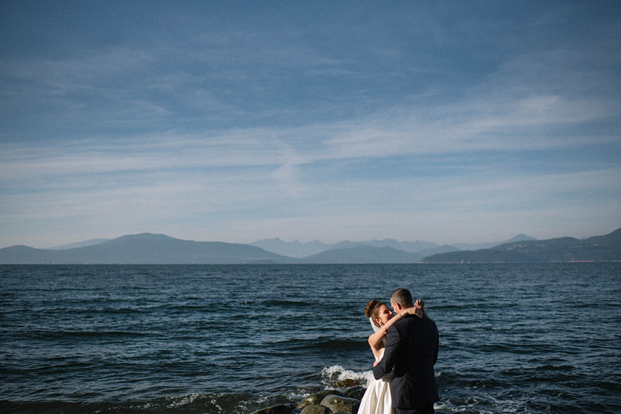 Jericho Beach Wedding Photographer