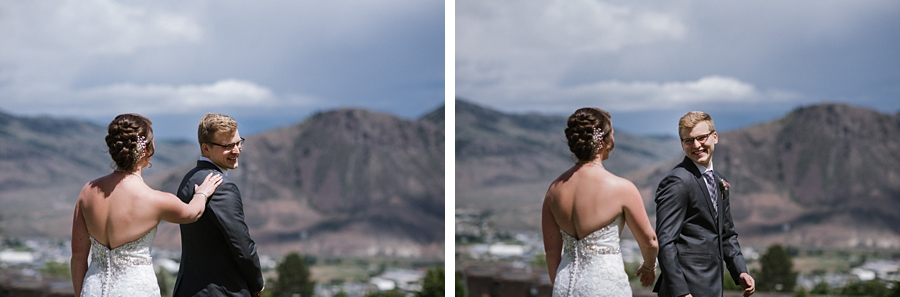 kamloops first look photography