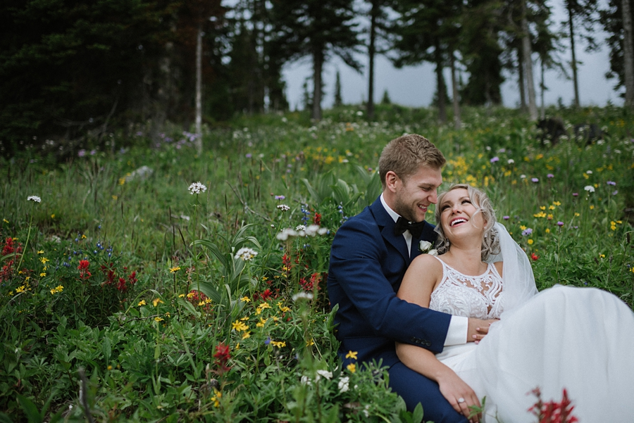 Kamloops Mountain Wedding