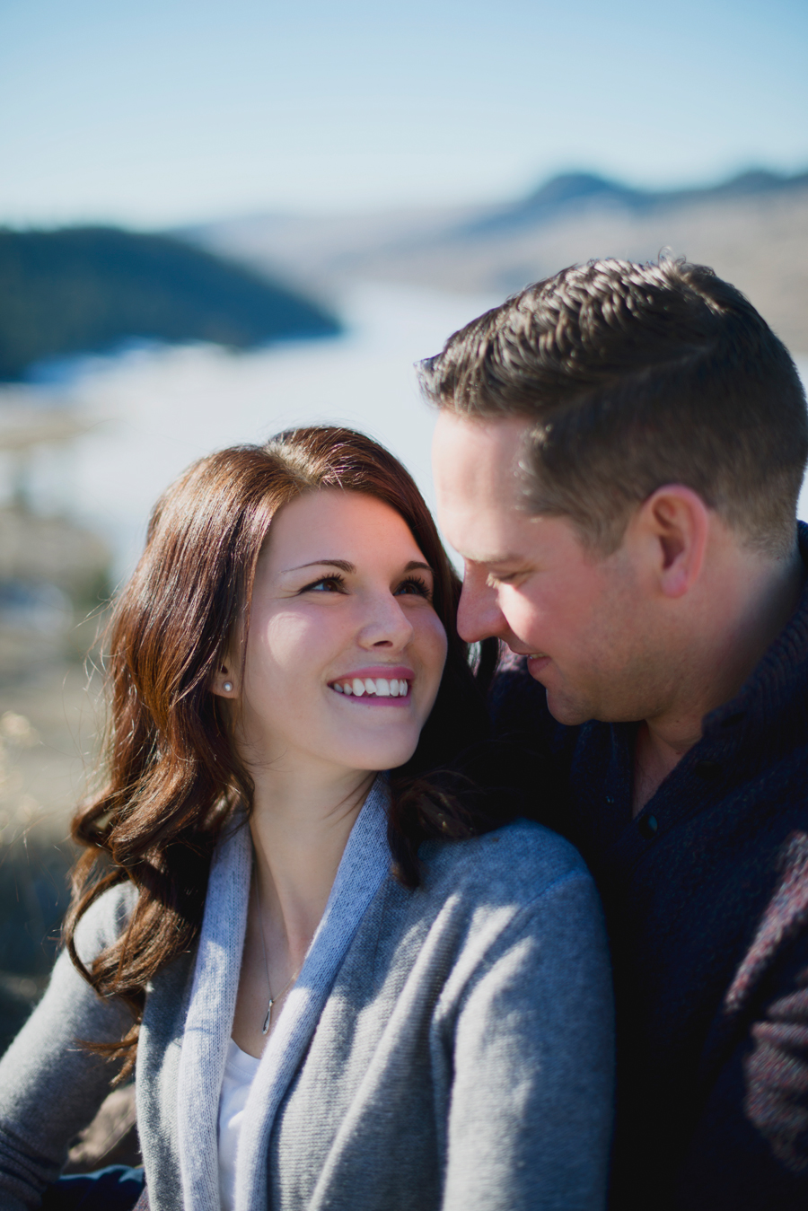 Outdoor Kamloops Engagement Photographer