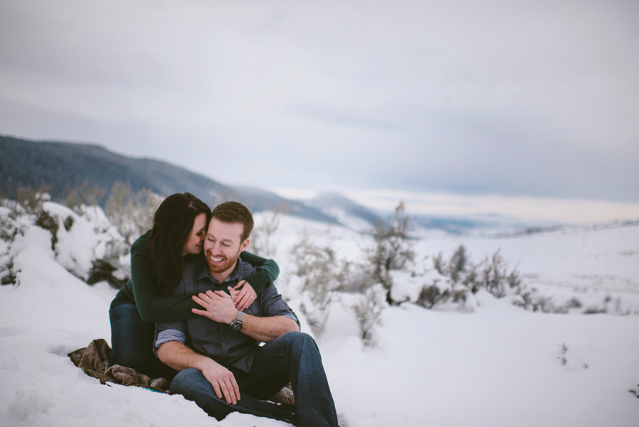 Outdoor Engagement Photography