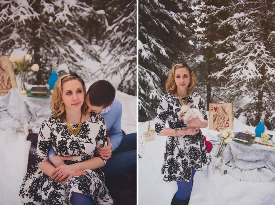 Sun Peaks Engagement Photographer