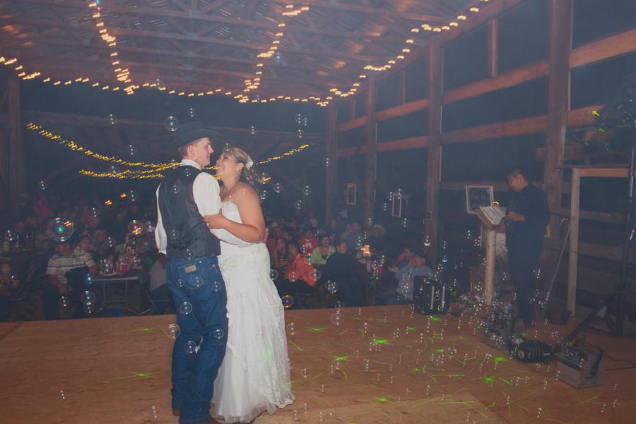 Rustic Barriere Wedding