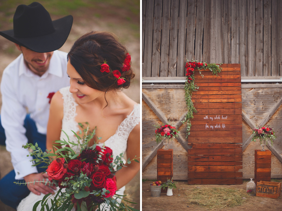 Rustic Country Wedding Photographer